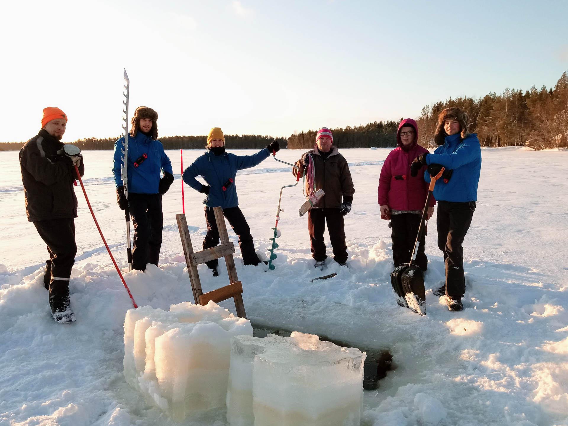 Avantouinti on taatusti aito paikalliselämys Suomessa