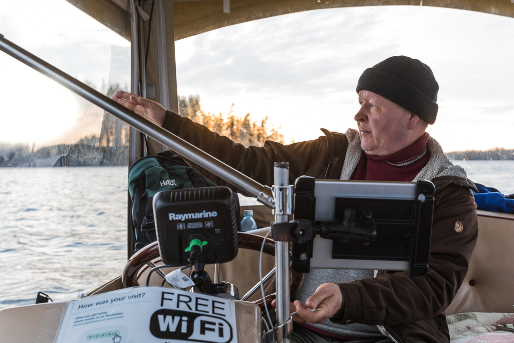 Arto Keinäsen matkailuyritys Lakeland GTE järjestää norpparetkiä ekopaatilla Puumalan norppavesillä